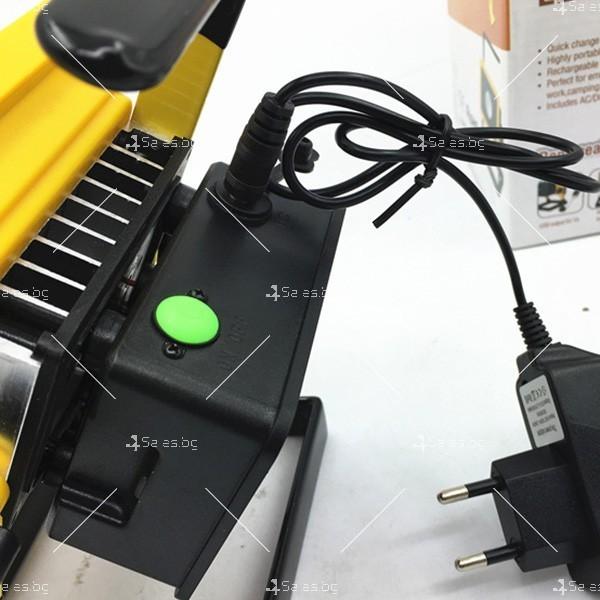 Мобилна лампа GDPLUS - прожектор с 24 LED осветителни тела 30 W GDL3 8