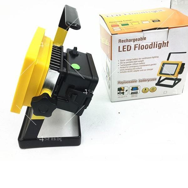 Мобилна лампа GDPLUS - прожектор с 24 LED осветителни тела 30 W GDL3 10