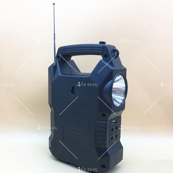 Прожектор GDPLUS със соларен панел за градината с USB и Bluetooth SOLAR8060 5