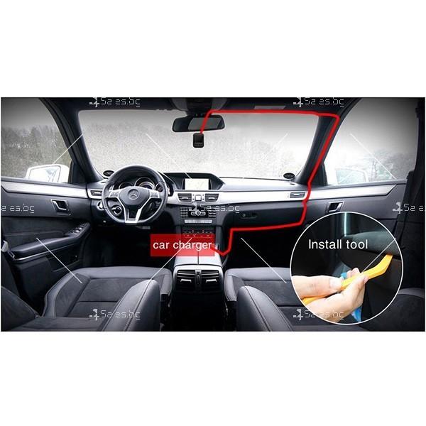 Kамера за кола с 2 инчов дисплей SUPER 4K ULTRA HD, записващ диск. WiFi, GPS 2