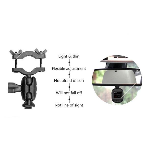Камера за кола 1,5 инча със скрит рекордер, обратно виждане, HD запис и Wifi 5