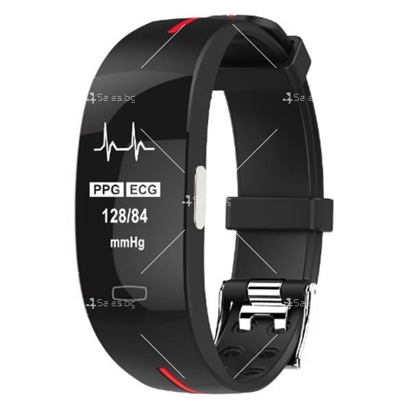 Интелигентна гривна-часовник с фотоелектричен електрод за кръвно налягане SMW37 6