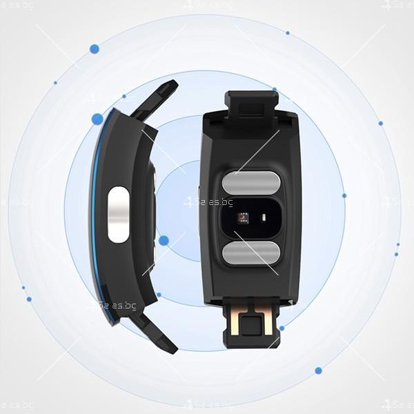 Интелигентна гривна-часовник с фотоелектричен електрод за кръвно налягане SMW37 8