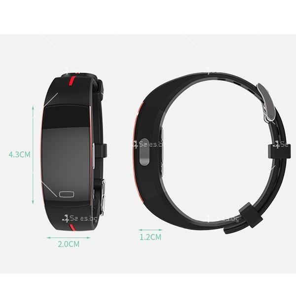 Интелигентна гривна-часовник с фотоелектричен електрод за кръвно налягане SMW37 10