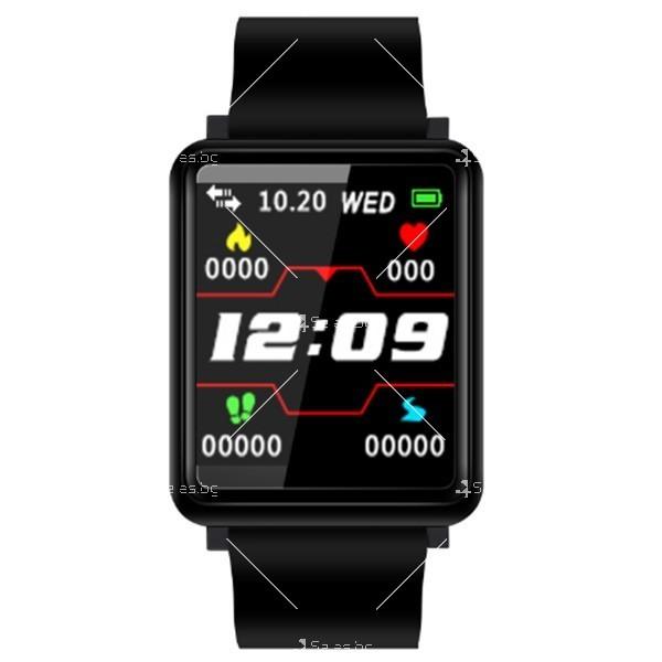Смарт часовник-гривна F21 в 3 цвята,голям екран,наблюдение на сърдечната честота 1