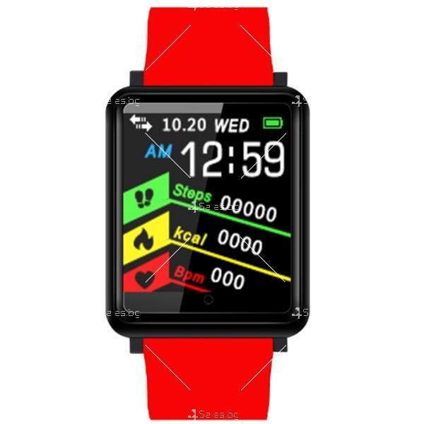 Смарт часовник-гривна F21 в 3 цвята,голям екран,наблюдение на сърдечната честота 2
