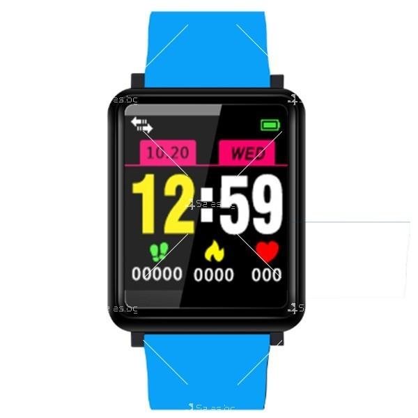 Смарт часовник-гривна F21 в 3 цвята,голям екран,наблюдение на сърдечната честота 4