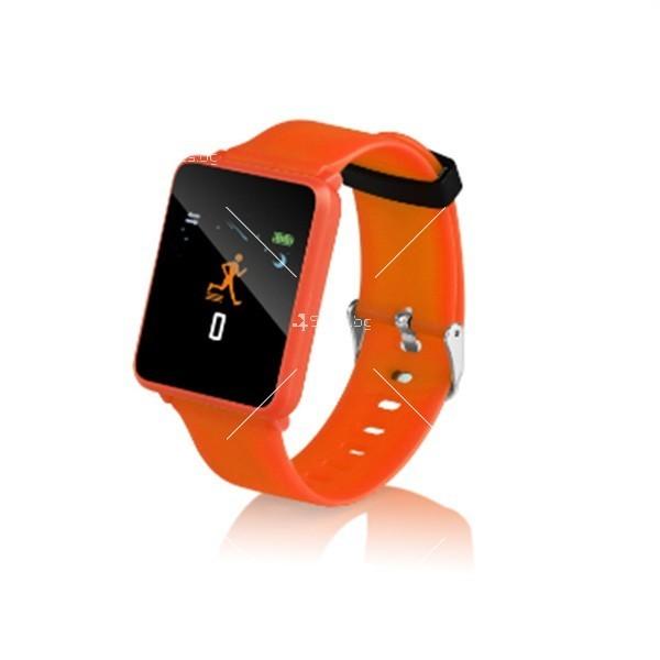 Смарт часовник-гривна F21 в 3 цвята,голям екран,наблюдение на сърдечната честота 5