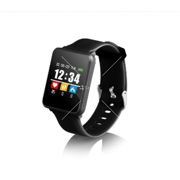 Смарт часовник-гривна F21 в 3 цвята,голям екран,наблюдение на сърдечната честота
