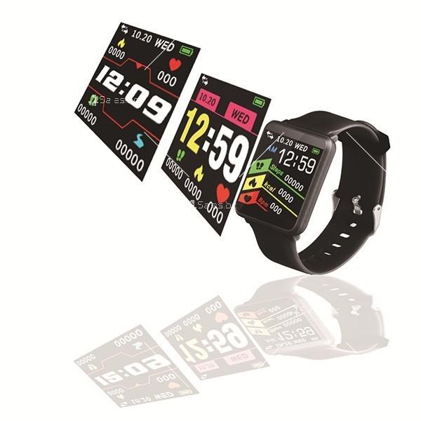 Смарт часовник-гривна F21 в 3 цвята,голям екран,наблюдение на сърдечната честота 8