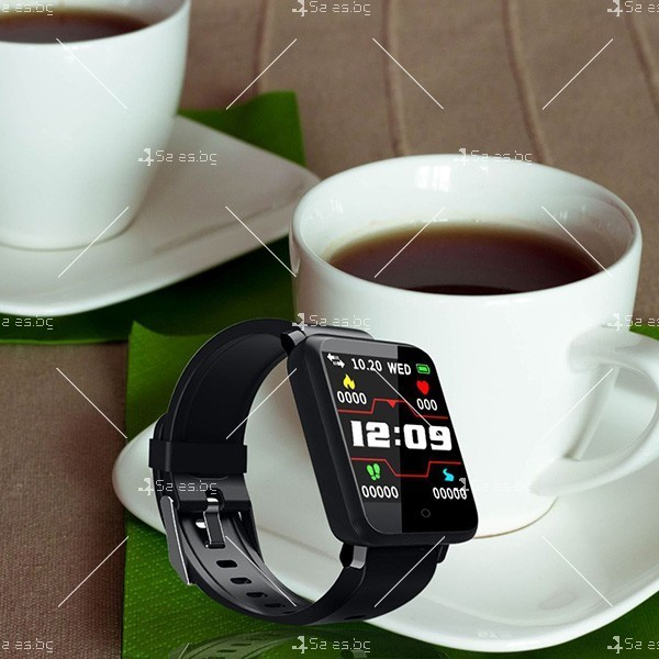 Смарт часовник-гривна F21 в 3 цвята,голям екран,наблюдение на сърдечната честота 11