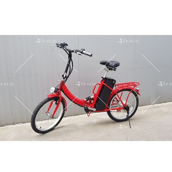 Нов модел велосипед и електрически сгъваем скутер 2