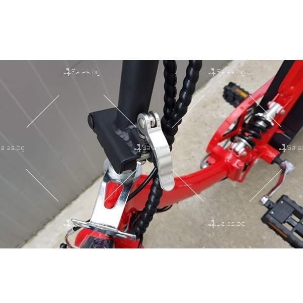 Нов модел велосипед и електрически сгъваем скутер 3