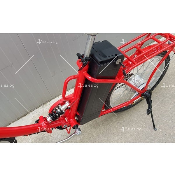 Нов модел велосипед и електрически сгъваем скутер 4