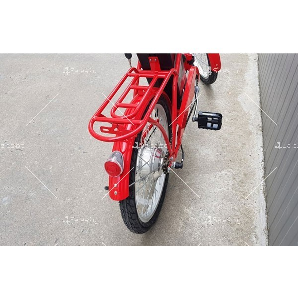 Нов модел велосипед и електрически сгъваем скутер 5