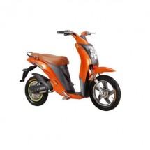 Оранжев скутер с уникален дизайн Т 500 W