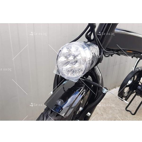 Разгъващ се скутер - колело с електрическо задвижване 4
