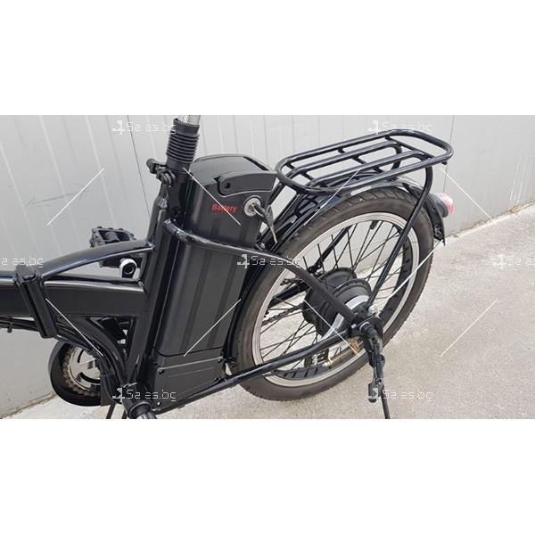 Разгъващ се скутер - колело с електрическо задвижване 5