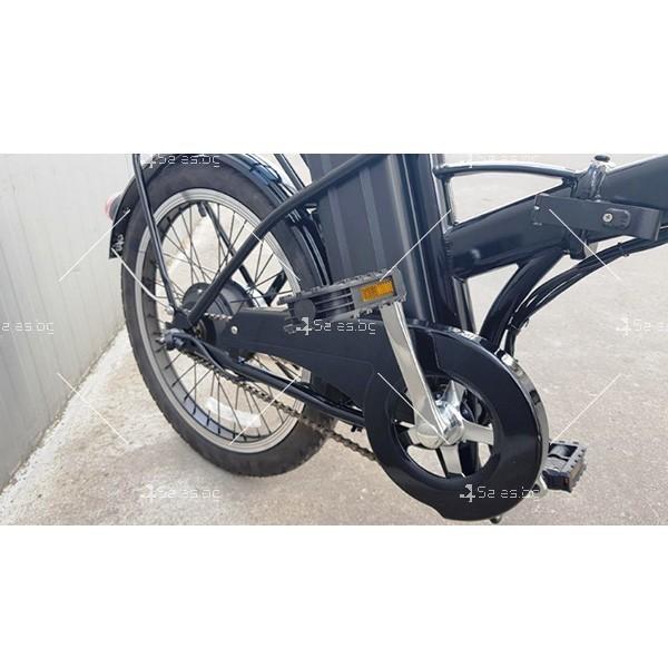 Разгъващ се скутер - колело с електрическо задвижване 7