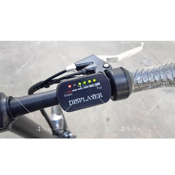 Разгъващ се скутер - колело с електрическо задвижване 8