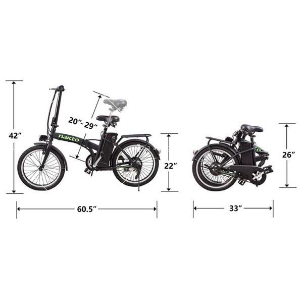 Разгъващ се скутер - колело с електрическо задвижване 10