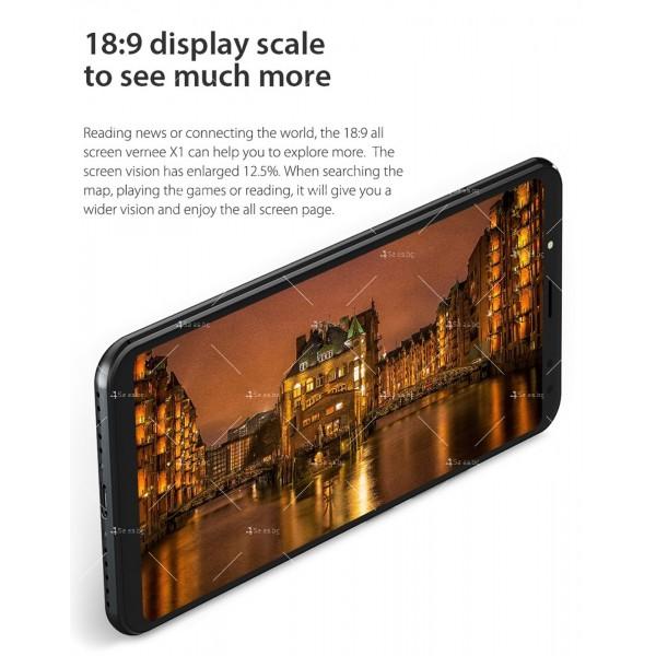 Смартфон с 6GB RAM и 64GB памет, 8 ядра , 6200 mAh батерия, Android 8,1