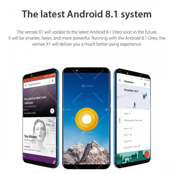 Смартфон с 6GB RAM и 64GB памет, 8 ядра , 6200 mAh батерия, Android 8,1 18