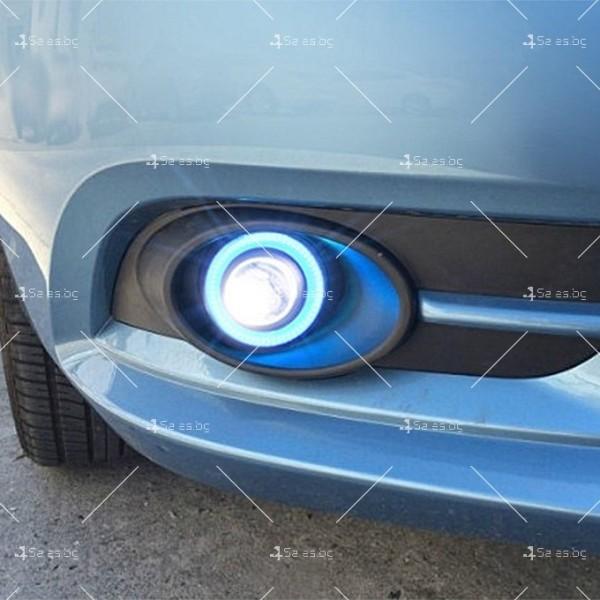 Лед халогени тип ангелски очи – 64 мм CAR LED21 11