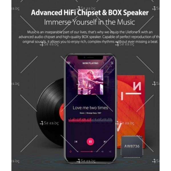 """Уникален 8 ядрен Android 8.1 смартфон с 5.85"""" дисплей, 3300 mAh батерия, Dual Sim 1"""