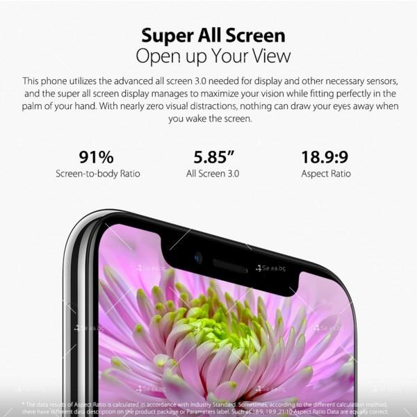 """Уникален 8 ядрен Android 8.1 смартфон с 5.85"""" дисплей, 3300 mAh батерия, Dual Sim 11"""