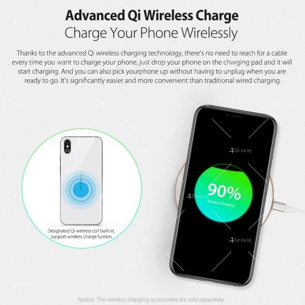 """Уникален 8 ядрен Android 8.1 смартфон с 5.85"""" дисплей, 3300 mAh батерия, Dual Sim 12"""