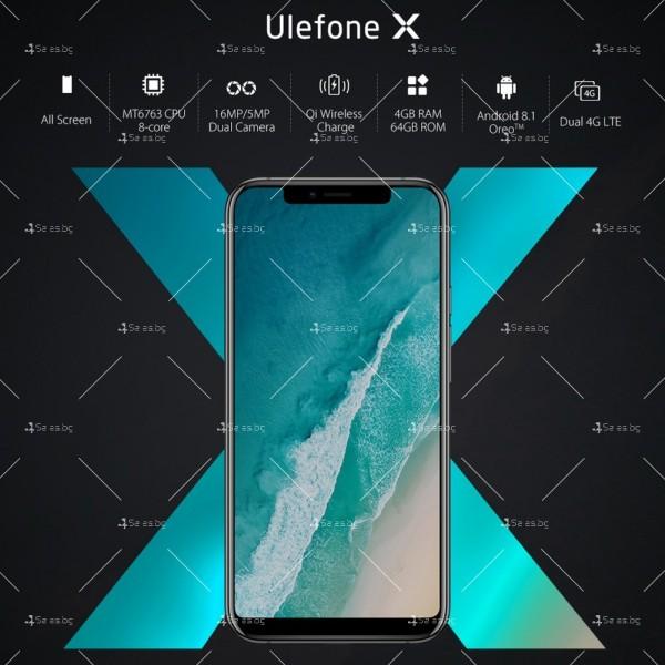 """Уникален 8 ядрен Android 8.1 смартфон с 5.85"""" дисплей, 3300 mAh батерия, Dual Sim 14"""