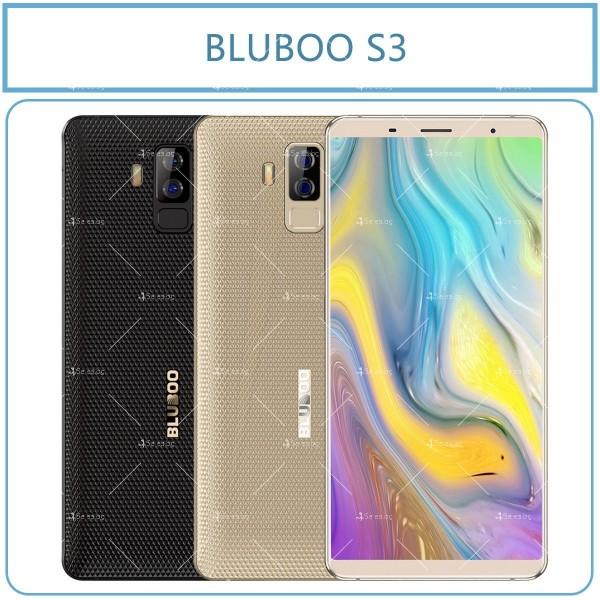 Bluboo S3 смартфон с 3 камери, 4GB RAM, 2 СИМ карти и 8500 mAh батерия 6