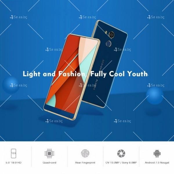 """BLUBOO D5 Pro, Gorilla Glass смартфон 5.5"""", 4-ядрен, 3GB RAM, 13Mpx камера 8"""
