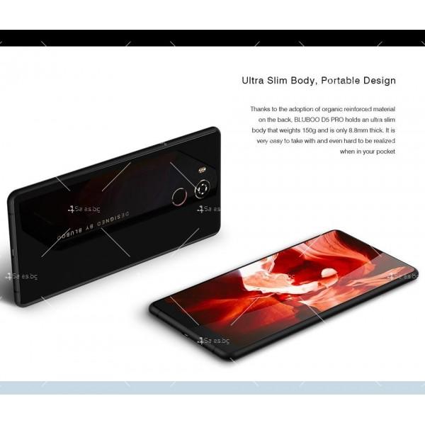 """BLUBOO D5 Pro, Gorilla Glass смартфон 5.5"""", 4-ядрен, 3GB RAM, 13Mpx камера 20"""
