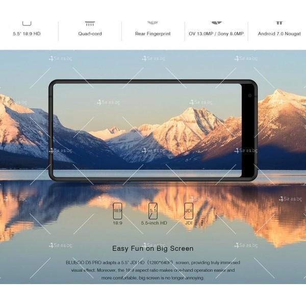 """BLUBOO D5 Pro, Gorilla Glass смартфон 5.5"""", 4-ядрен, 3GB RAM, 13Mpx камера 22"""
