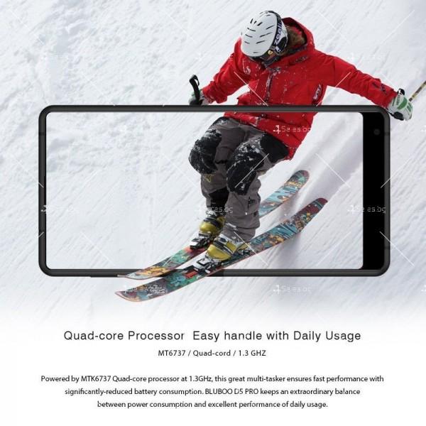 """BLUBOO D5 Pro, Gorilla Glass смартфон 5.5"""", 4-ядрен, 3GB RAM, 13Mpx камера 26"""