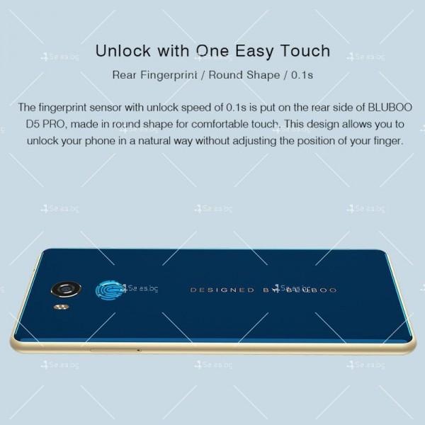 """BLUBOO D5 Pro, Gorilla Glass смартфон 5.5"""", 4-ядрен, 3GB RAM, 13Mpx камера 27"""