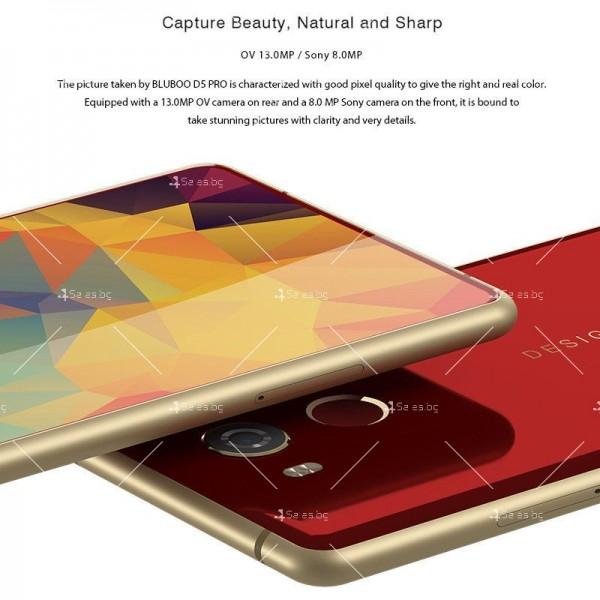 """BLUBOO D5 Pro, Gorilla Glass смартфон 5.5"""", 4-ядрен, 3GB RAM, 13Mpx камера 28"""