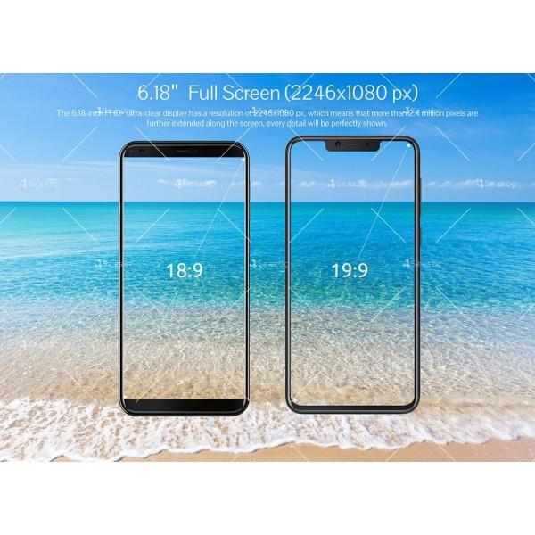 Телефон CUBOT P20, 6.18 инча 2К с 4GB RAM, 4000 mAh батерия, 2 Sim, Android 8 2