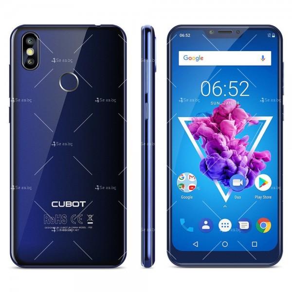 Телефон CUBOT P20, 6.18 инча 2К с 4GB RAM, 4000 mAh батерия, 2 Sim, Android 8 18