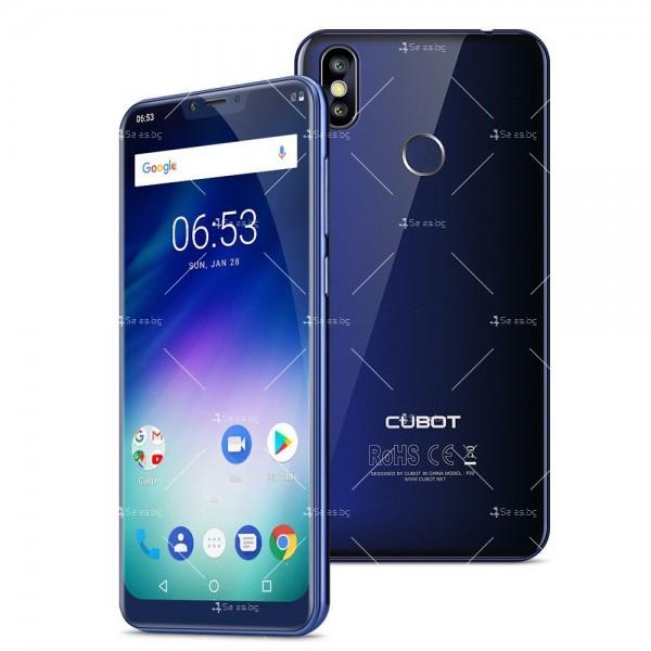 Телефон CUBOT P20, 6.18 инча 2К с 4GB RAM, 4000 mAh батерия, 2 Sim, Android 8 20
