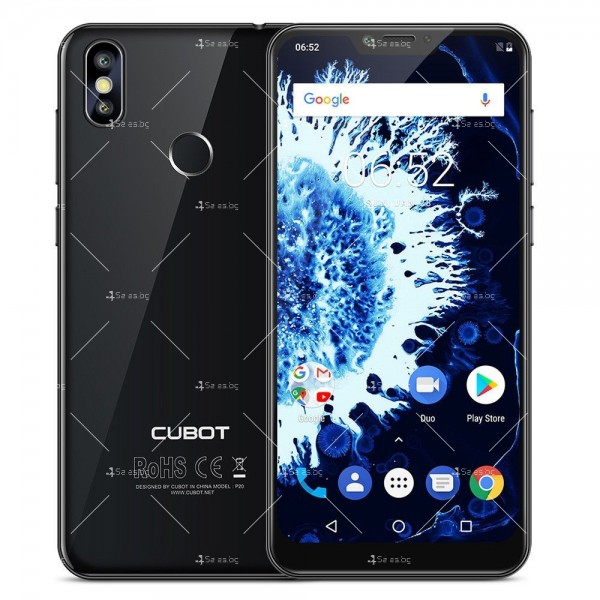 Телефон CUBOT P20, 6.18 инча 2К с 4GB RAM, 4000 mAh батерия, 2 Sim, Android 8 27