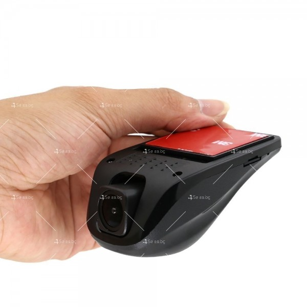 Скрит видео регистратор с WIFI, 1080P, нощен запис, без дисплей AC78