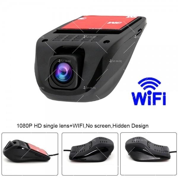 Скрит видео регистратор с WIFI, 1080P, нощен запис, без дисплей AC78 10