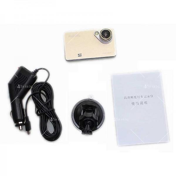 Стилен DVR в златисто или черно с 2,4 инча екран и голям ъгъл на виждане AC81 20