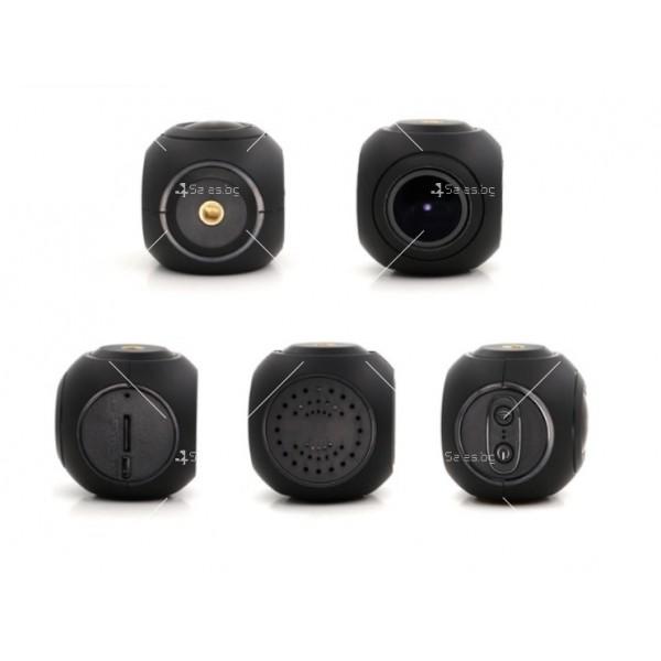 WI-FI мини сферична автомобилна камера, 170 градусов ъгъл и нощен запис AC79 1