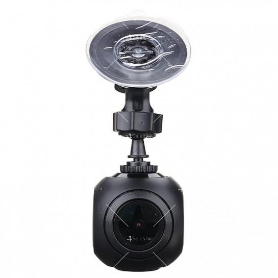 WI-FI мини сферична автомобилна камера, 170 градусов ъгъл и нощен запис AC79