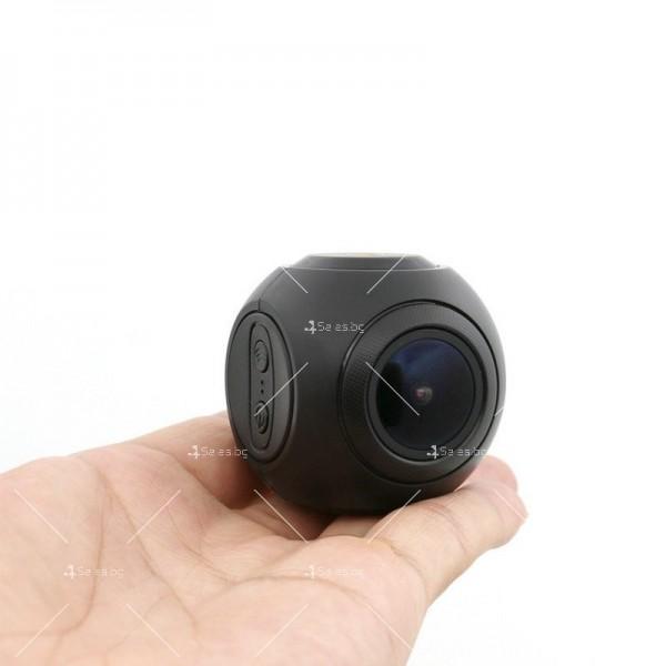 WI-FI мини сферична автомобилна камера, 170 градусов ъгъл и нощен запис AC79 15
