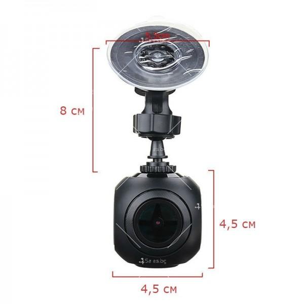 WI-FI мини сферична автомобилна камера, 170 градусов ъгъл и нощен запис AC79 19
